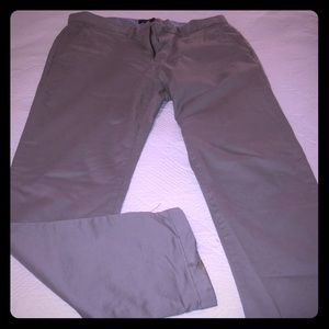 Tommy Hilfiger light grey khaki chinos